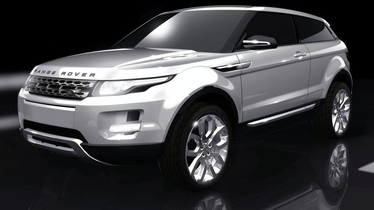 Land Rover LRX design drawing - 1600