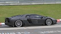 Lamborghini Jota spied at Nürburgring