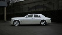 Pearl White Rolls Royce Phantom by Project Kahn
