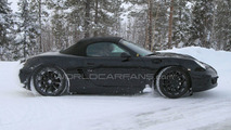 2012 Porsche Boxster Latest Winter Spy Photos - 19.02.2010