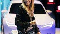 Pop singer Shakira at the 2010 Geneva Motor Show