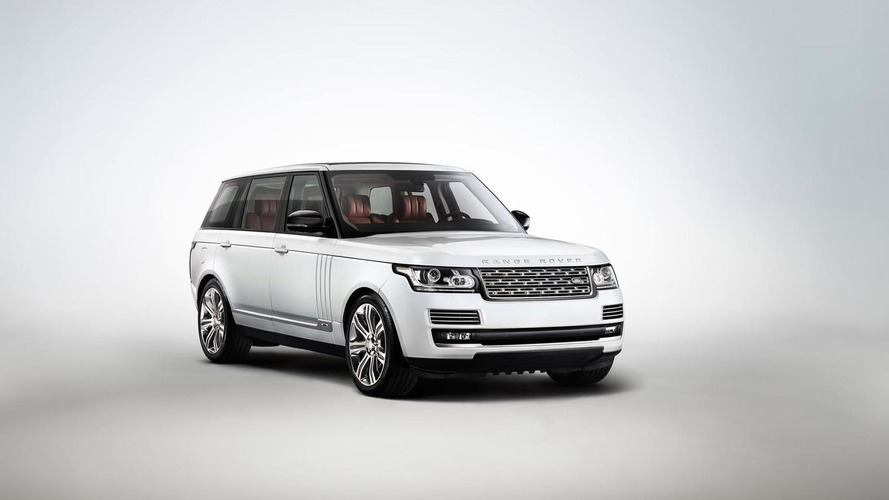 Long Wheelbase Autobiography Black Range Rover showcased in L.A. [video]