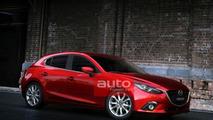 2014 Mazda3 leaked photo 26.06.2013
