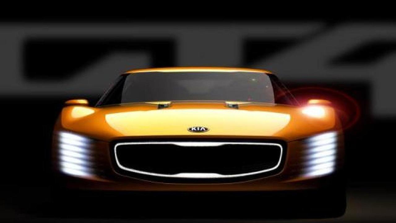 Kia GT4 Stinger concept