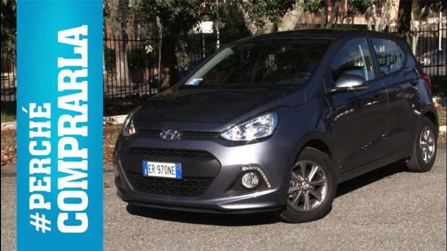 Hyundai i10, perché comprarla... e perché no [VIDEO]