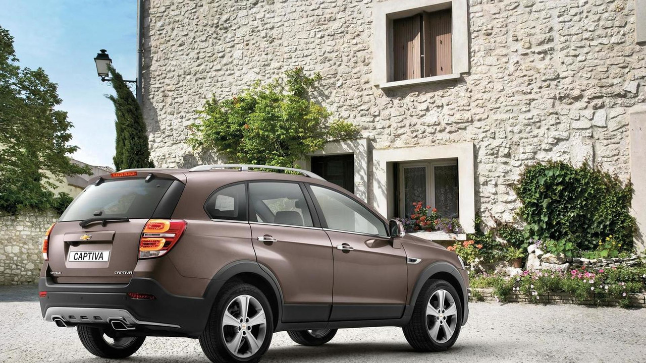 2013 Chevrolet Captiva facelift