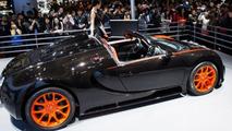 Bugatti Veyron Grand Sport Vitesse World Record Car Edition at 2013 Auto Shanghai