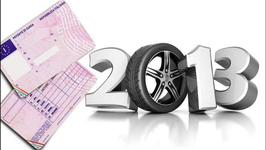 Patente auto e moto: cosa cambia dal 19 gennaio 2013