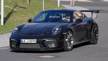 Porsche 911 GT3 RS Refresh Spy Pics