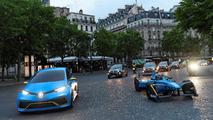 Renault Zoe e-Sport konsepti ve Formula E aracı