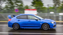 2017 Subaru WRX STI On The Nurburgring