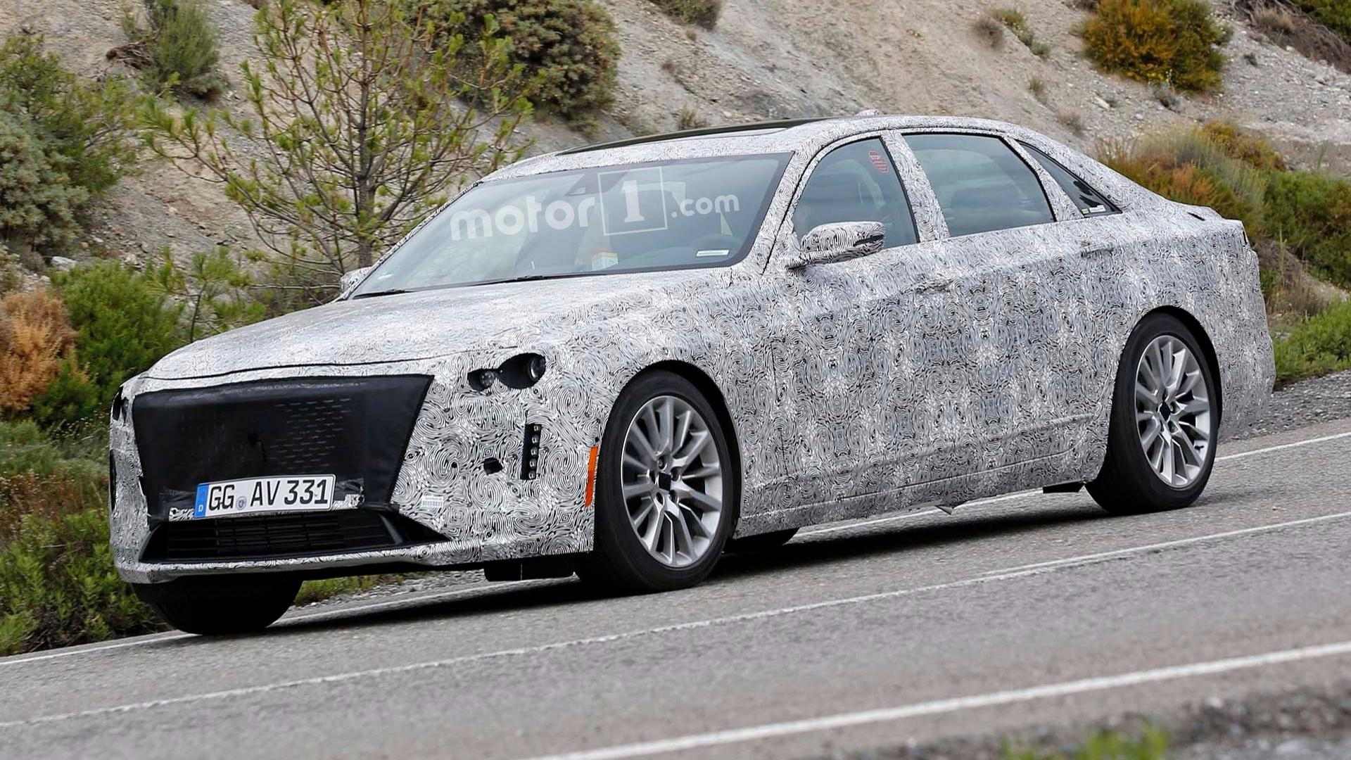 Cadillac CT6 Spy Photos Suggest Styling Cues From Escala ...