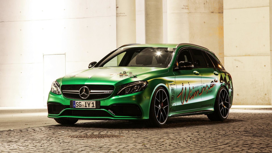Mercedes-AMG C63 Tuned Into Flashy Wagon With 801 Horsepower