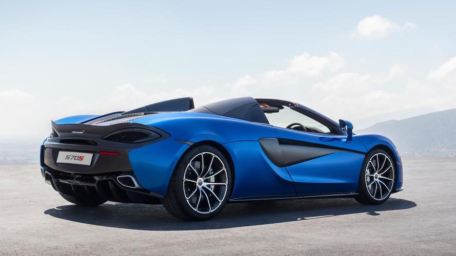A semmiből bukkant elő a lenyűgöző McLaren 570S Spider