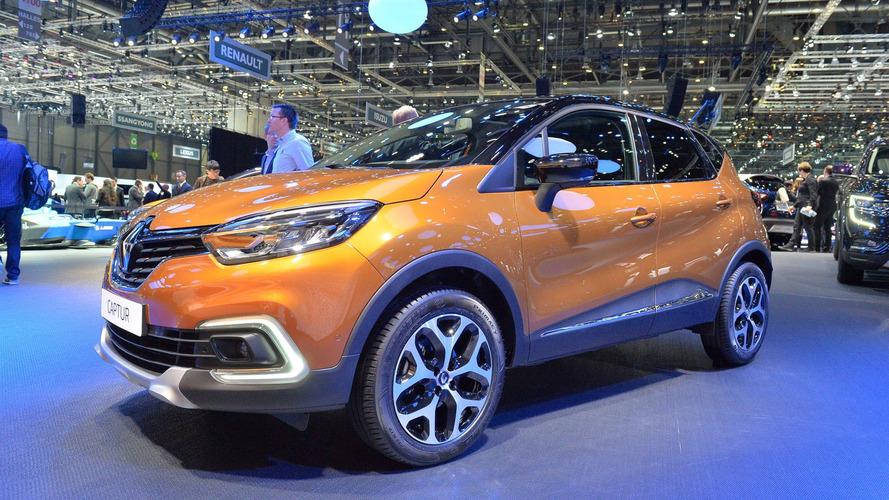 Makyajlı Renault Captur da Cenevre'de