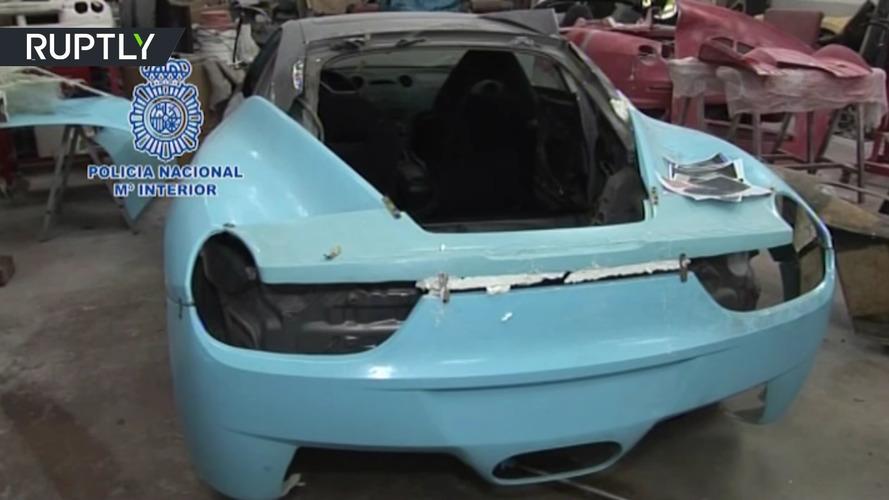 VIDÉO - Les contrefaçons de Ferrari et Lamborghini en détails !