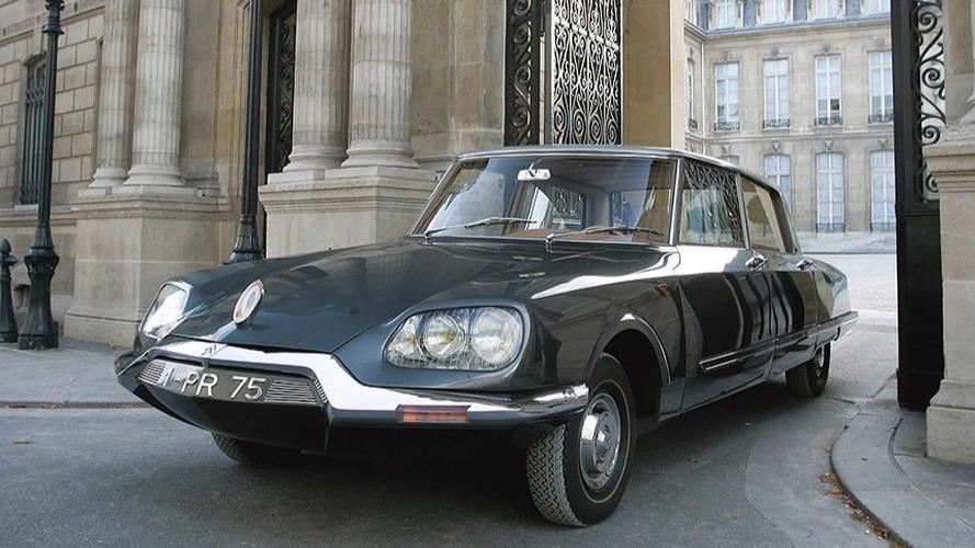 Limousines présidentielles - La Citroën DS21 de Charles de Gaulle