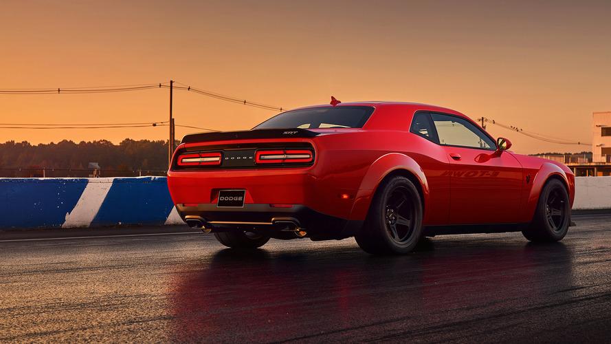 La Dodge Challenger SRT Demon sur eBay à plus de 200'000 euros