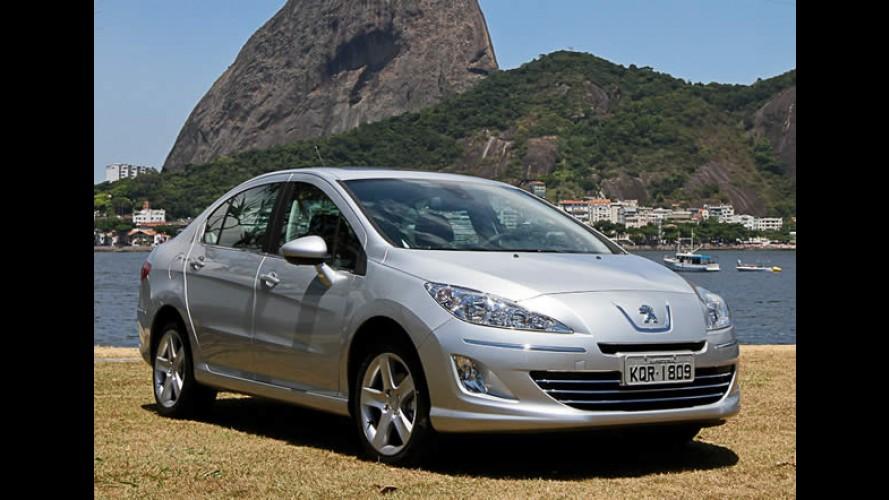 Em promoção, Peugeot oferece câmbio automático grátis para o sedã 408