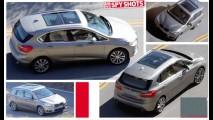 Flagra: primeiro BMW de tração dianteira está pronto para a estreia em Genebra