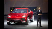 SUV da Lamborghini, Urus será produzido na Eslováquia a partir de 2017
