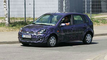 Ford Fiesta Facelift Spy Photos