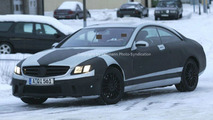 New CL 63 AMG spy photo