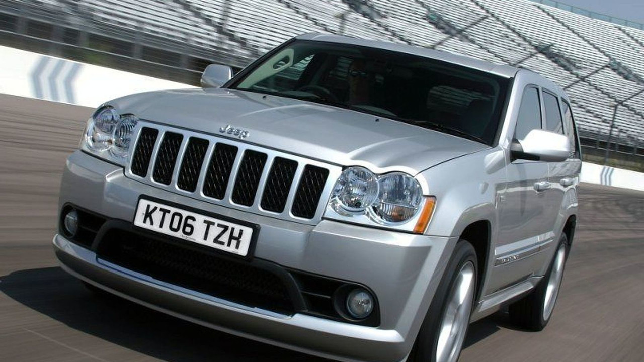 Jeep launches 152 mph Grand Cherokee SRT-8