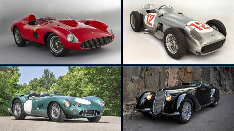 10 Most Expensive Cars Sold At Auction, Adjusted For Inflation