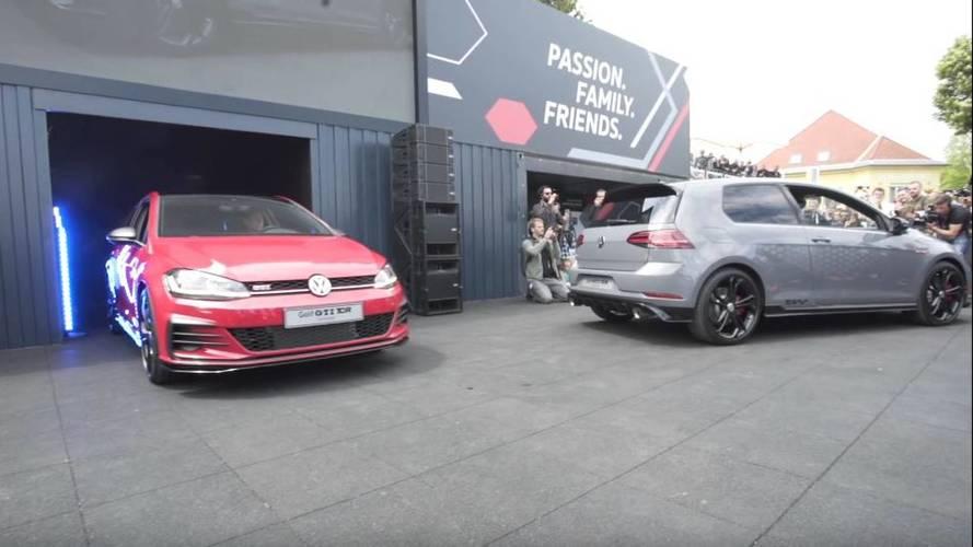 VIDÉO - La Volkswagen Golf GTI TCR se laisse approcher