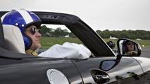 Mercedes SLS AMG Roadster golf ball shot 31.5.2012