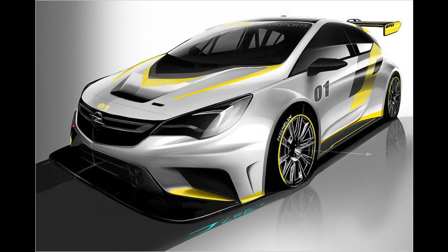 Der neue Tourenwagen von Opel