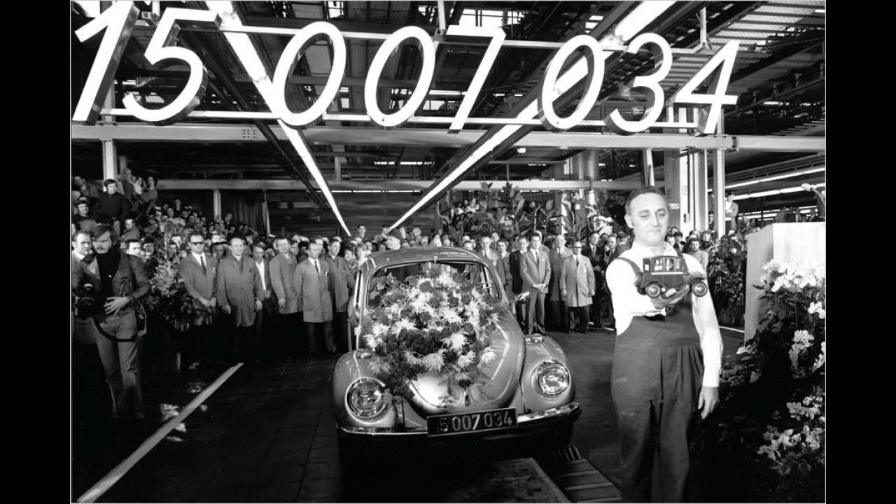 40 Jahre VW Weltmeister-Käfer