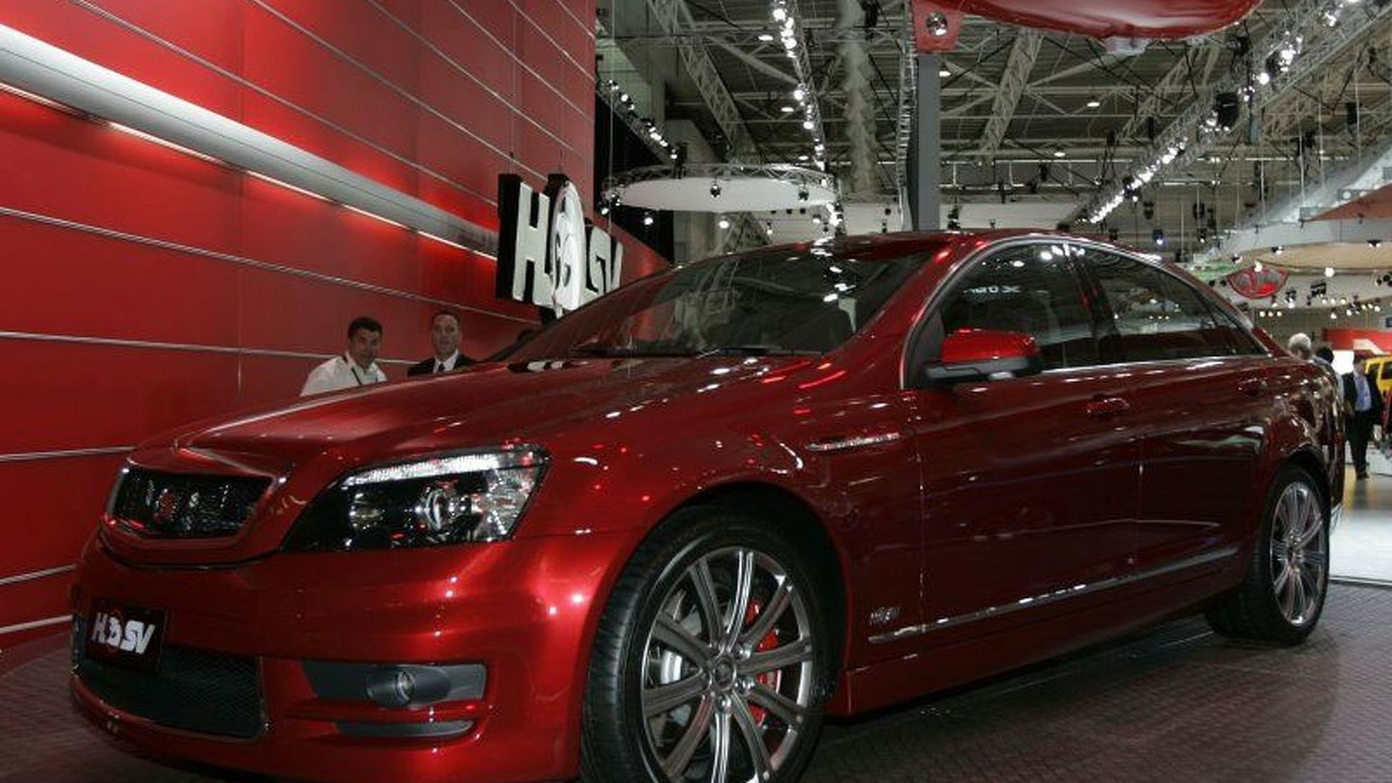 Holden Special Vehicles Grange Debuts
