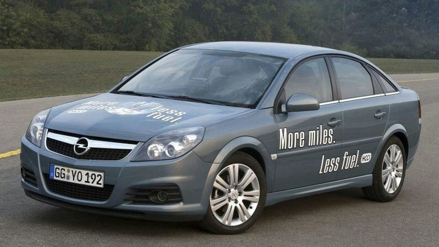 Opel Vectra with HCCI Technology