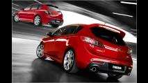 Zwei Mazda-3-Premieren