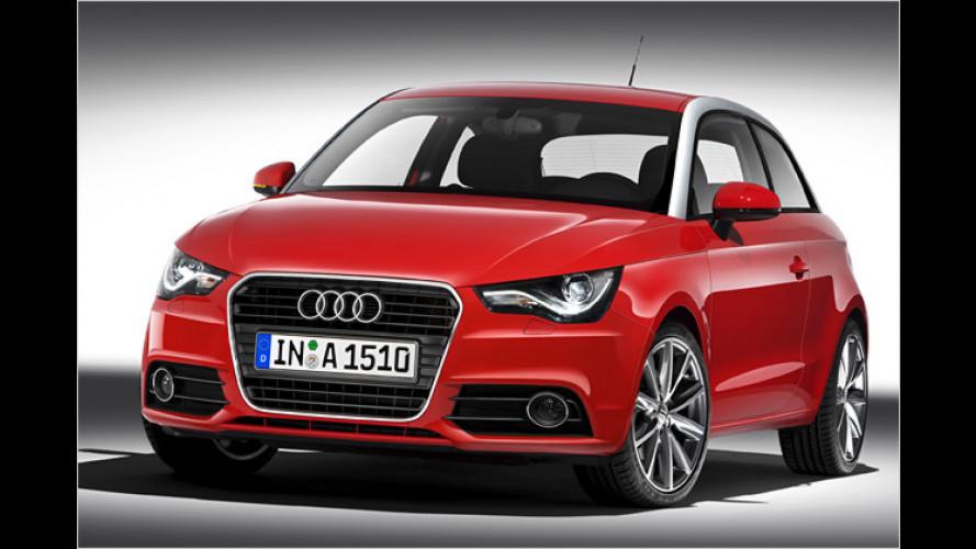 Audi A1: Die Preise für den Kleinen beginnen bei 16.000 Euro