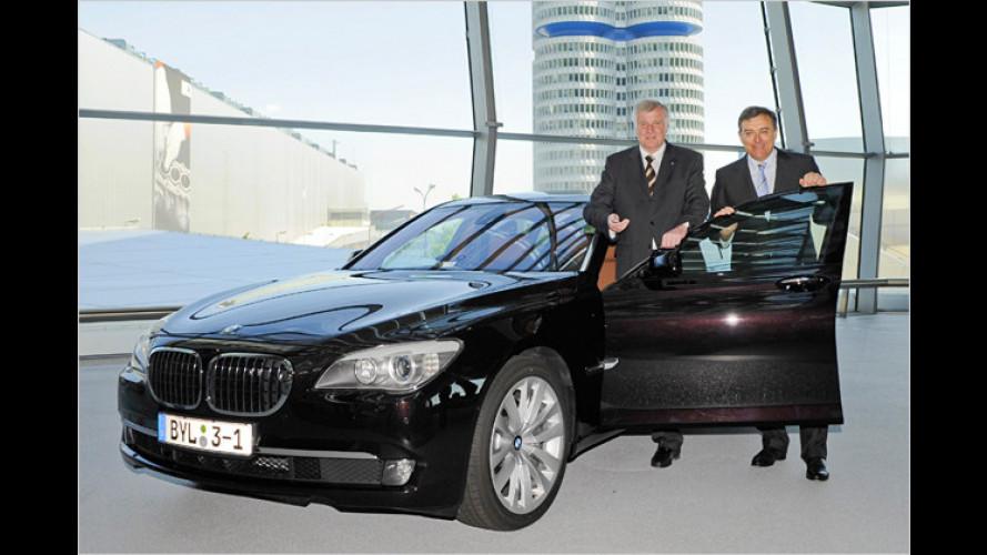 Zweitwagen im Trend: Horst Seehofer fährt Audi und BMW