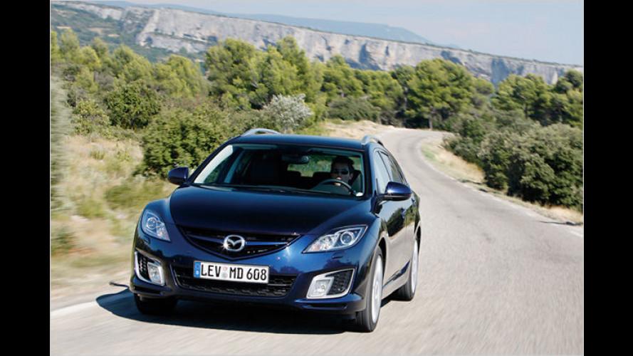 Mazda 6 Kombi 2.2 Diesel: Schnell, sauber und sparsam