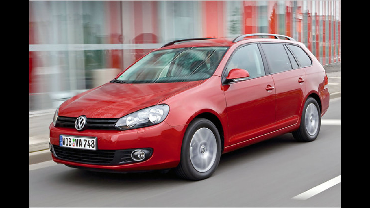 VW Golf Variant 1.6 TDI BlueMotion Technology Trendline
