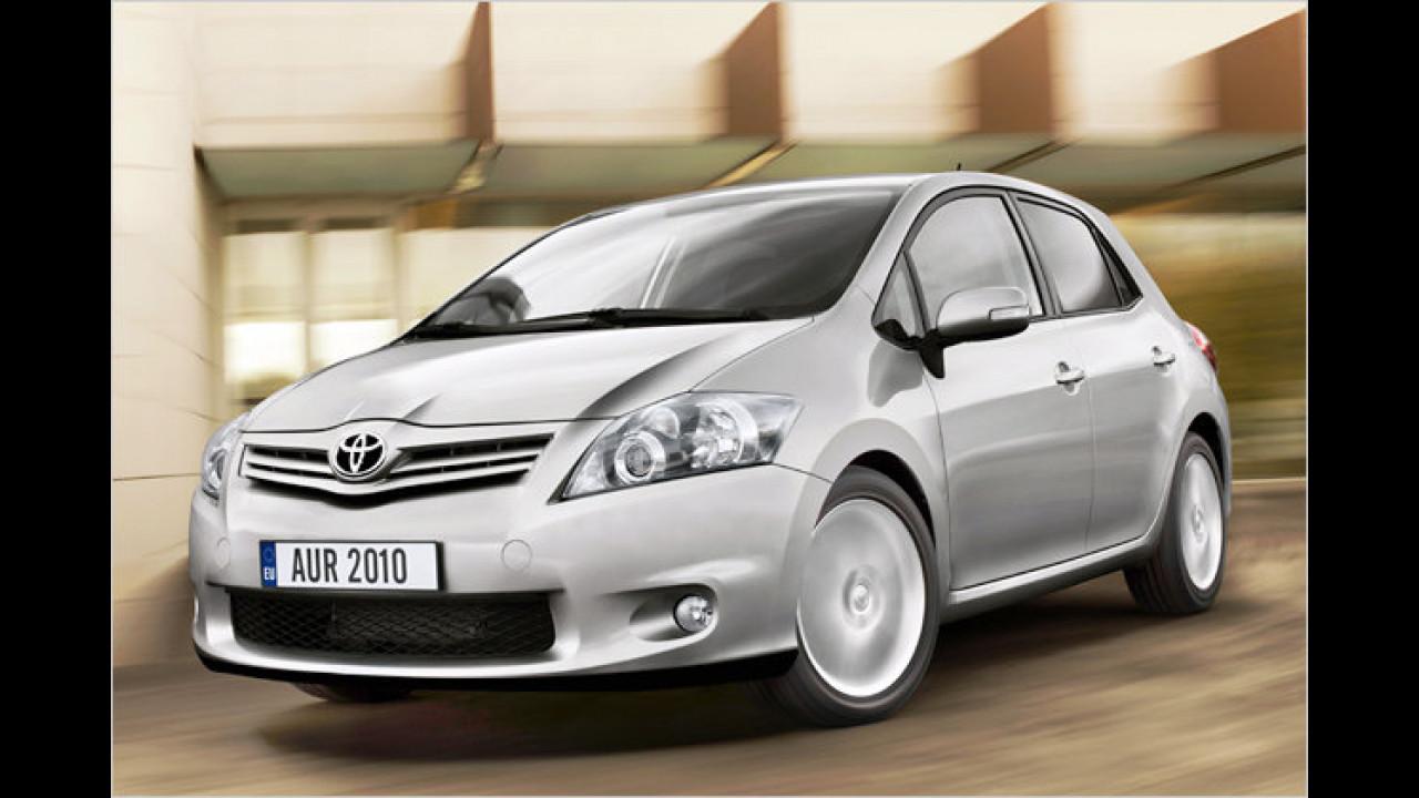 Toyota : Auris und Avensis aus England