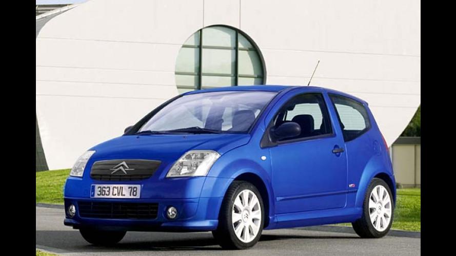 Citroën C2 VTS: Sportliche Topversion des Kleinsten in Paris