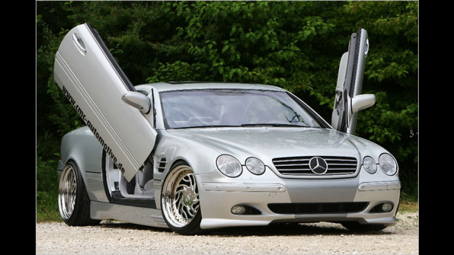Mercedes CL 500 von CMC Automotive mit Street-Credibility