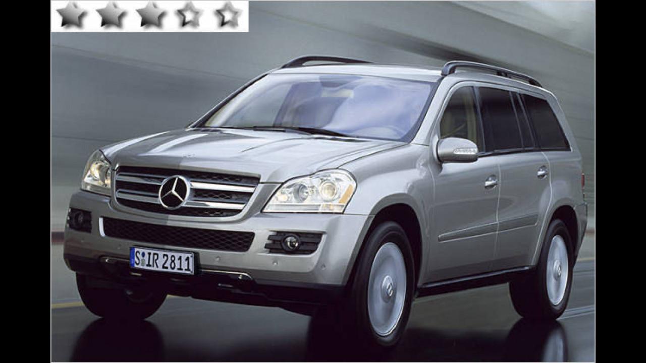 Mercedes GL 320 CDI 7G-Tronic: 52 Punkte