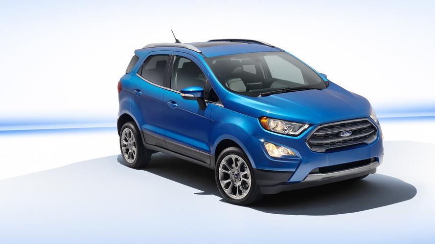 Este é o novo Ford EcoSport 2018, reestilizado e sem estepe na traseira