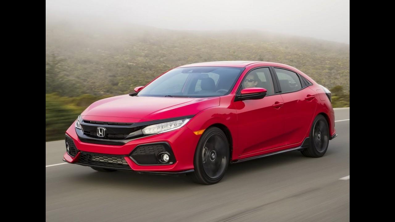 Novo Civic Hatch 2017 terá preço inicial de US$ 19,7 mil nos EUA