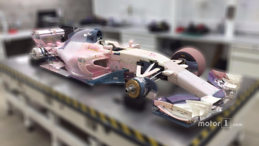 Manor F1 team wind tunnel model going up for auction