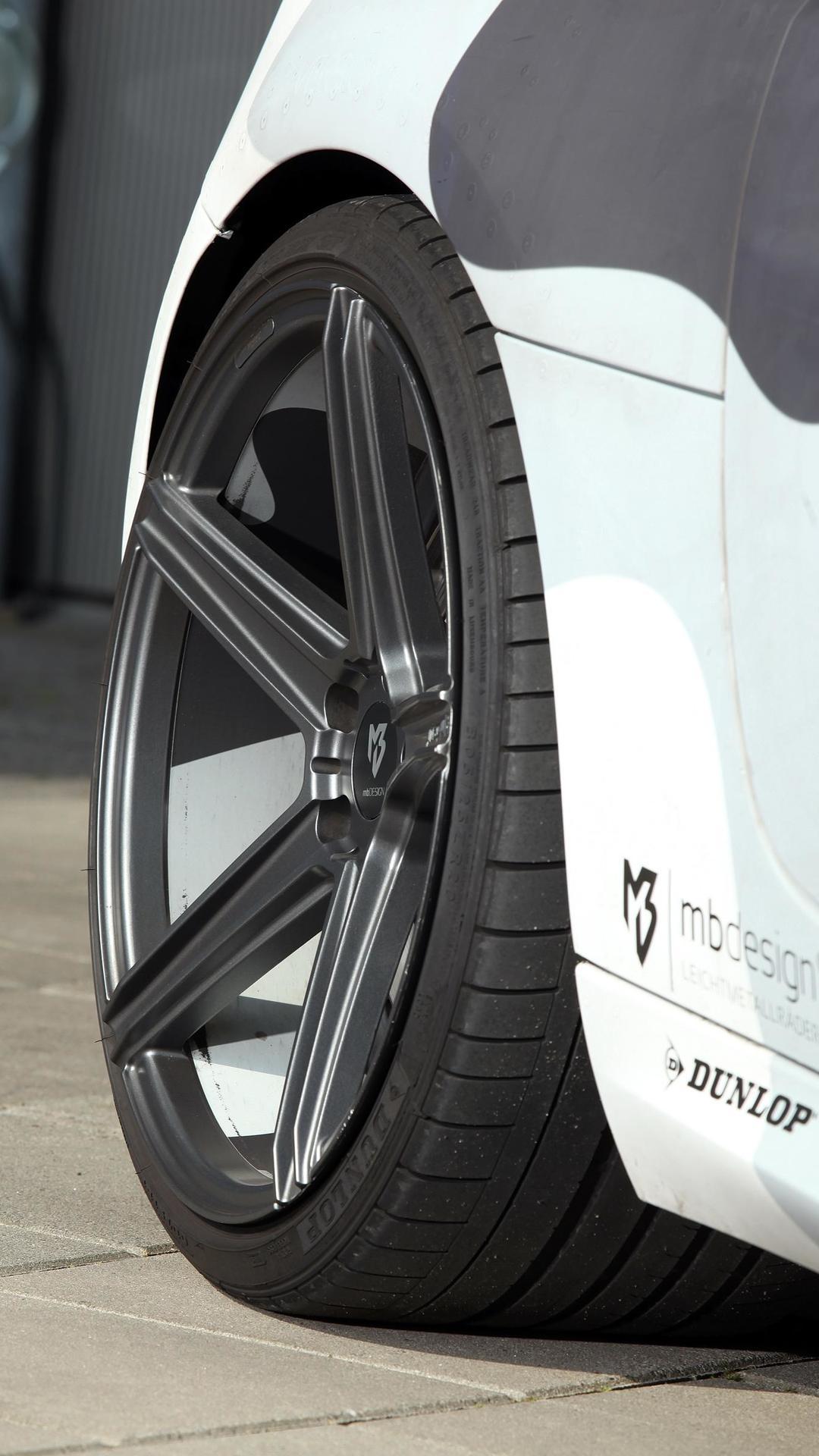 Графитовые колёса Audi R8 V8 от mbDESIGN