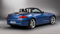 BMW Z4 in Estoril Blue metallic