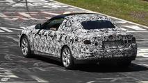 BMW 4-series cabriolet prototype on Nurburgring